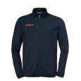 Training jacket Classic - Navy/fluo Red - Men - S