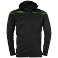 Training jacket Stream 22 - Black/fluo Green - Kids - 116