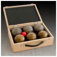 Wooden box for 6 balls
