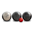 Precision shooting game for petanque
