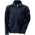 Men's Zip fleece Jacket Kariban K911-Black