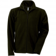 Men's Zip fleece Jacket Kariban K911-Green-Olive