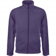 Men's Zip fleece Jacket Kariban K911-Purple
