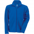Men's Zip fleece Jacket Kariban K911-Royal-Blue