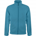 Men's Zip fleece Jacket Kariban K911-Tropical-Blue