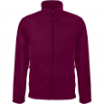 Men's Zip fleece Jacket Kariban K911-Wine