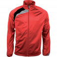 Tracksuit top - men - sporty red/black/storm grey
