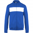 Tracksuit top - men - sporty royal blue/white