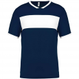 Short-sleeved jersey - men - sporty navy/white