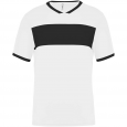 Short-sleeved jersey - men - white/black