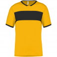 Short-sleeved jersey - kids - sporty yellow/black