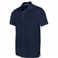 Short-sleeved polo shirt - men - navy