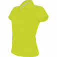 Short-sleeved polo shirt - ladies - lime