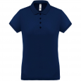 Performance piqué polo shirt - ladies - navy/navy