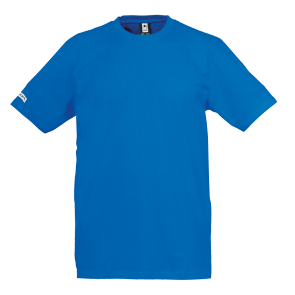 T-Shirt Team - Azure Blue - Men - XXXS