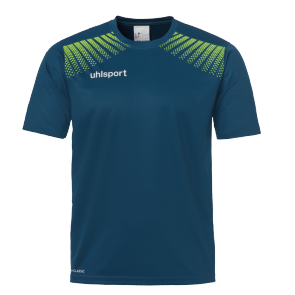 T-Shirt Goal - Petrol/flash Green - Kids - 128