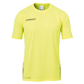 T-Shirt Score - Fluo Yellow/black - Kids - 116