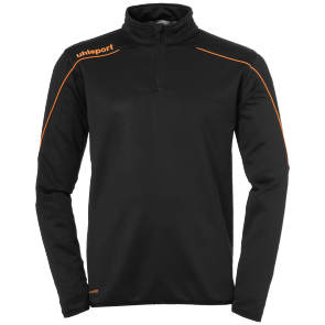 Sweat Stream 22 - Black/fluo Orange - Men - S