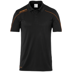 Jersey Stream 22 - Black/fluo Orange - Kids - 140