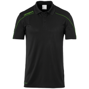 Jersey Stream 22 - Black/fluo Green - Kids - 140