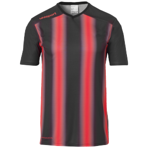 Shortsleeves Stripe 2.0 - Black/red - Kids - 116