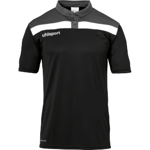 Polo manches courtes Offense 23 - Noir/anthracite/blanc - Homme