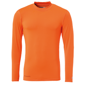 Longsleeves Distinction - Fluo Orange - Men - XXS