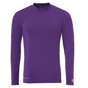 Longsleeves Distinction - Purple - Men - XXS