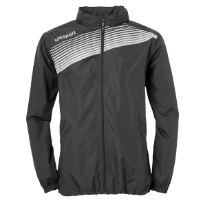 Rain jacket Liga 2.0 - Black/white - Kids - 128