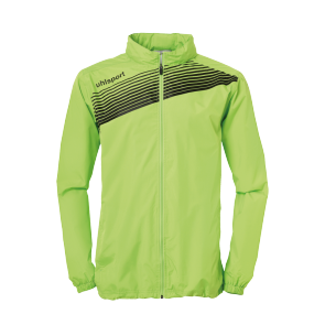 Rain jacket Liga 2.0 - Flash Green/black - Kids - 128