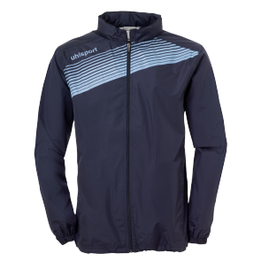 Rain jacket Liga 2.0 - Navy/sky Blue - Kids - 128