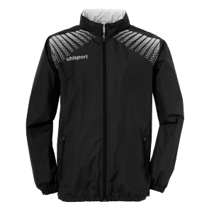 Rain jacket Goal - Black/white - Kids - 128