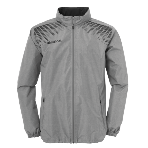 Rain jacket Goal - Dark Grey Mélange/black - Men - S
