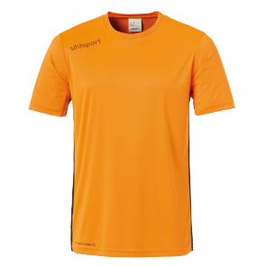 Shortsleeves Essential - Fluo Orange/black - Kids - 104