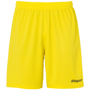 Short Basic - Lime Yellow/black - Kids - 116