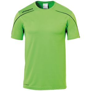 Shortsleeves Stream 22 - Fluo Green/black - Kids - 116