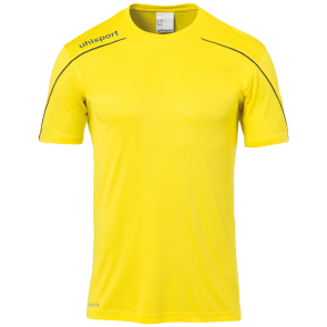 Shortsleeves Stream 22 - Lime Yellow/black - Kids - 116