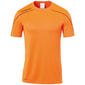 Shortsleeves Stream 22 - Fluo Orange/black - Kids - 116