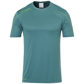 Shortsleeves Stream 22 - Fir Green/fluo Green - Kids - 116