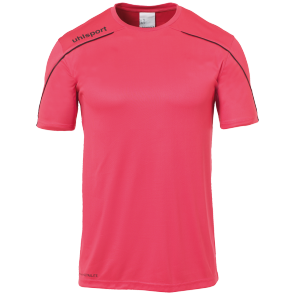 Shortsleeves Stream 22 - Pink/black - Kids - 116