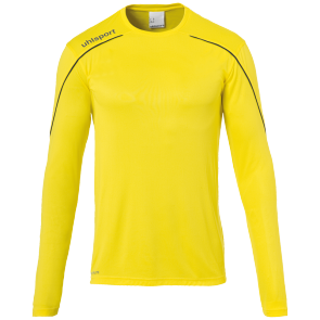 Longsleeves Stream 22 - Lime Yellow/black - Men - S