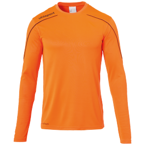 Longsleeves Stream 22 - Fluo Orange/black - Men - S