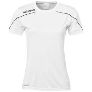 Shortsleeves Stream 22 - White/black - Women - XS
