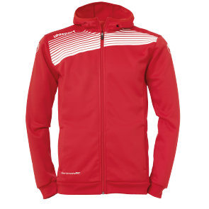 Jacket with hood Liga 2.0 - Red/white - Men - S
