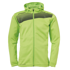 Jacket with hood Liga 2.0 - Flash Green/black - Kids - 128
