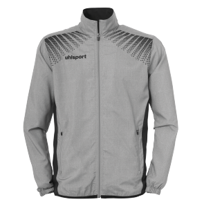 Training jacket Goal - Dark Grey Mélange/black - Men - S