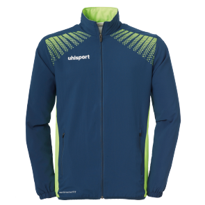 Training jacket Goal - Petrol/flash Green - Men - S