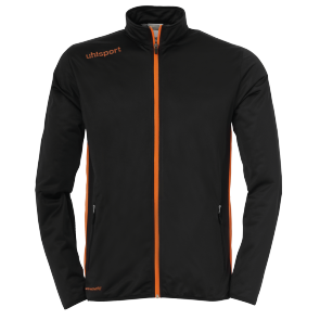 Training jacket Essential - Black/fluo Orange - Kids - 104
