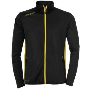 Training jacket Essential - Black/lime Yellow - Kids - 104