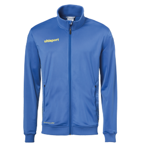Training jacket Score - Azure Blue/lime Yellow - Kids - 116